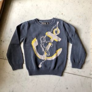 Stella McCartney x Gap Gray Anchor Sweater 2-3 Y